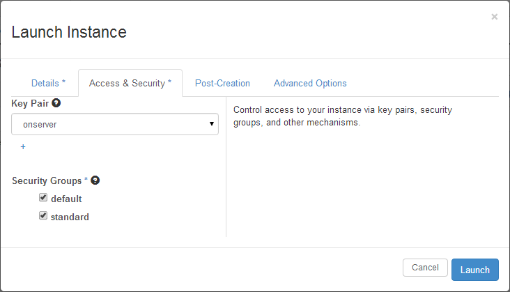 openstack-launch-instance-access-security