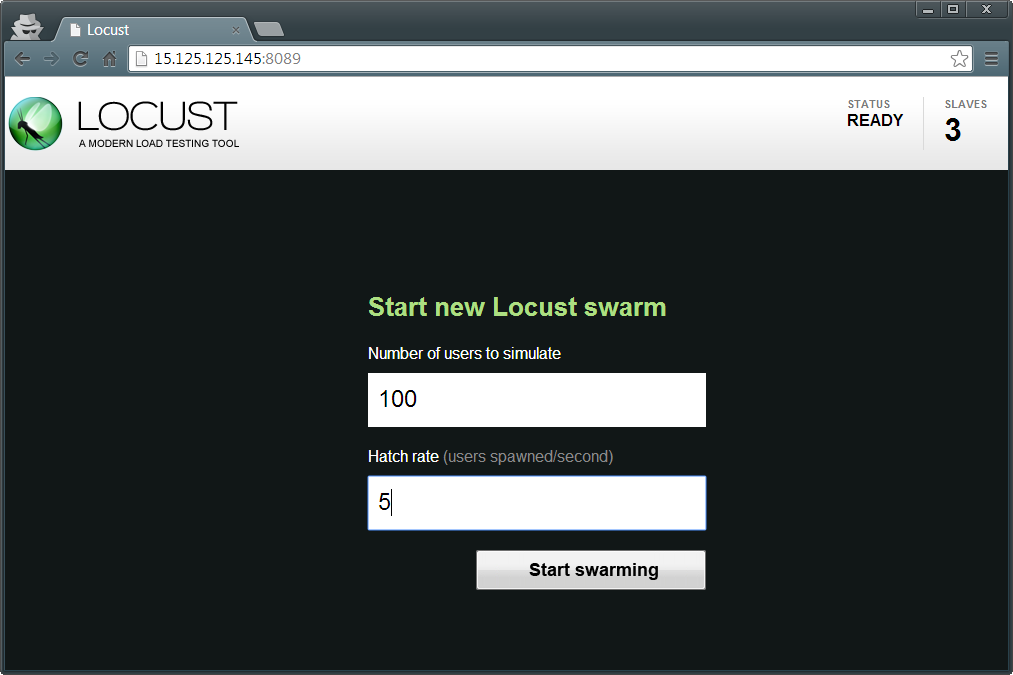 Load Testing with Locust.io