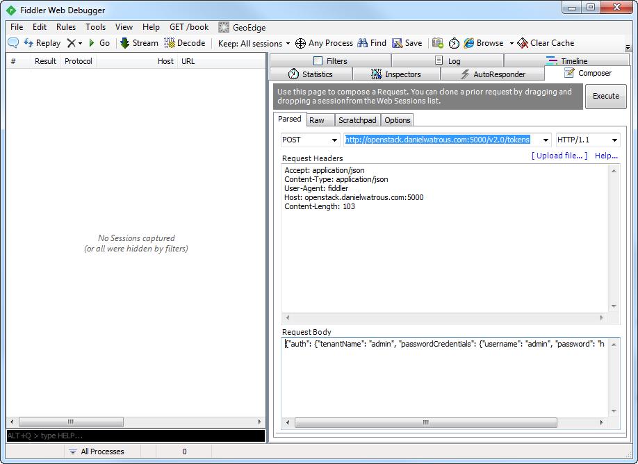 OpenStack REST API